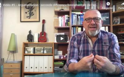 Argumentaire : 2ème différence fondamentale Vidéo #5