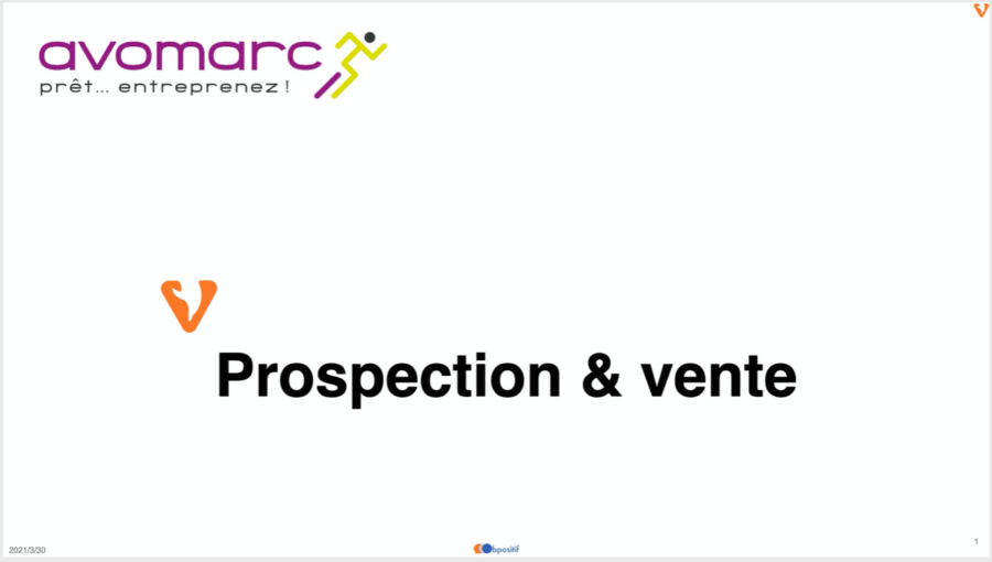 AVOMARC - 2021 - Atelier Communication & vente